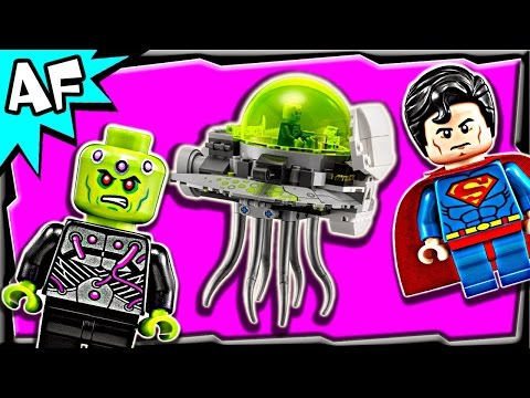 Vidéo LEGO DC Comics 76040 : L'attaque de Brainiac