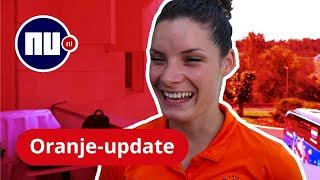 Oranje-update: 'Nog geen spoor van finalestress' | NU nl