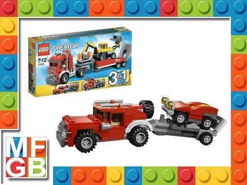 Vidéo LEGO Creator 31005 : Le camion de chantier