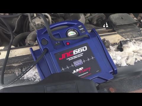 Can the JNC660 crank a V8?