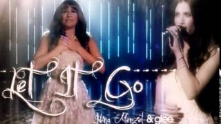 Let It Go - Idina Menzel & Glee (Rachel)