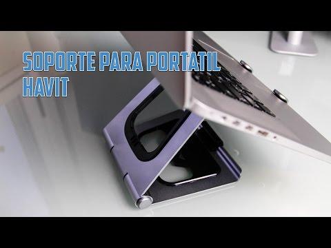Soporte de aluminio para portátil de Havit