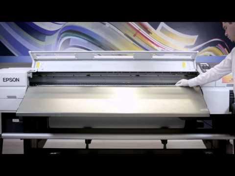 Entenda Como Carregar e Retirar o Papel da Impressora Epson F7070