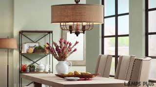 Tremont Rust Pendant Light