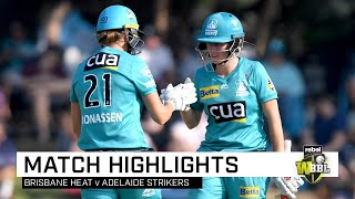 Heat stand tall to down Strikers in style   Rebel WBBL 05