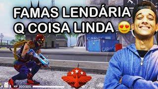 FAMAS LENDÁRIA FAZENDO UM ESTRAGO NA RANQUEADA! EL GATO MESTRE DO FREE FIRE!