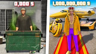 Od BEZDOMOVCE na 1,000,000,000 KČ za 24 HODIN v GTA 5!