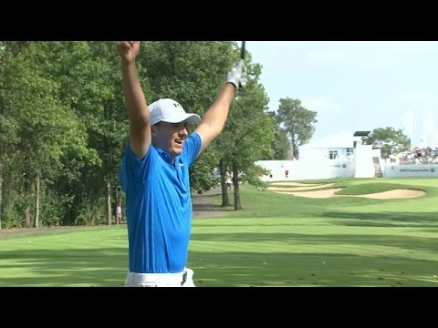 Jordan Spieth's Hole-in-One at the BMW Championship Is Pretty Fucking Perfect