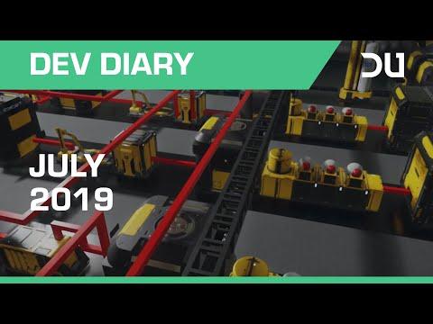 Dual Universe - Dev Diary Alpha 2 | July