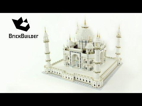 Vidéo LEGO Creator 10256 : Taj Mahal