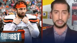 Last season humbled Baker Mayfield, but 2020 will be a test — Nick Wright   NFL   FIRST THINGS FIRST