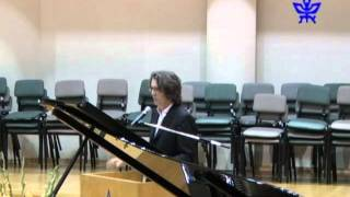 Discussion and Musical Renditions with composer Pascal Dusapin