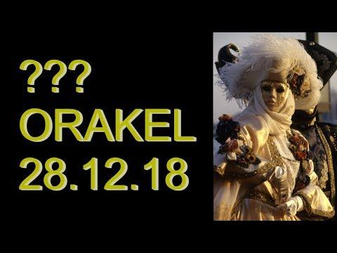 ??? ORAKEL: 28.12.2018 (Freitag)