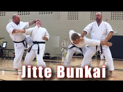Practical Kata Bunkai: Jitte Flow Drill