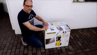 Mit dem Hochdruckreiniger K4 von Kärcher Terrasse reinigen und testen
