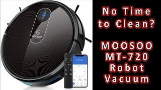 MOOSOO MT-720 Robot Vacuum Review ????
