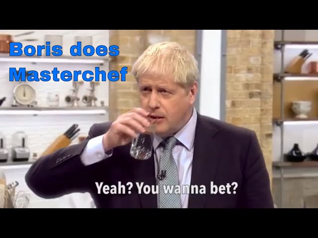 Boris Does Masterchef