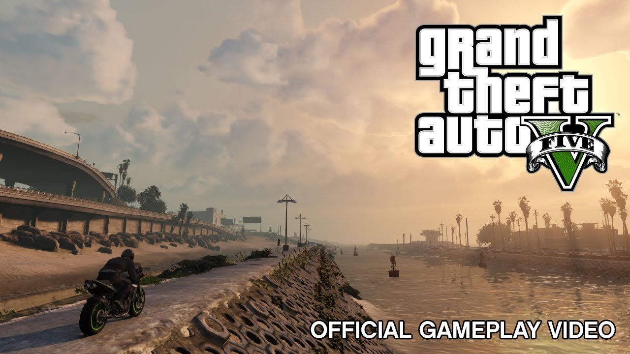 GTA V: Here's The First Gameplay Footage