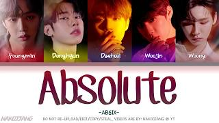AB6IX (에이비식스) – Absolute (Color Coded Lyrics EngRomHan가사)
