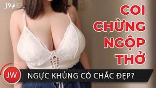 ĐỎ MẮT gái xinh LỘ CLIP Nâng ngực CỰC NÓNG, Bác sĩ Tú Dung ra tay gái HAI LƯNG hoá GÒ BỒNG ĐÀO