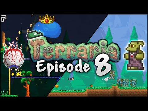 Wasn't Expecting To Do THIS MUCH In Terraria! | Terraria Episode 8