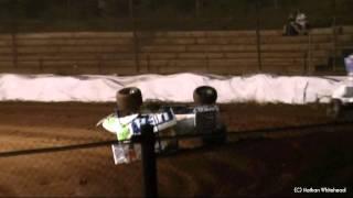 Gambar cover Ian Burrows Crash - Sydney Speedway 5-11-11
