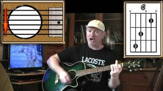 Dizzy - Vic Reeves / Tommy Roe - Guitar Lesson