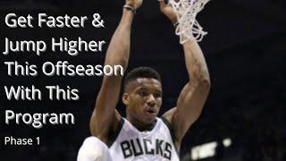 Basketball Offseason Strength Workout Plan - Phase 1