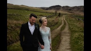 A Romantic Elopement To Scotland For An Intimate Humanist Beach Wedding Ceremony