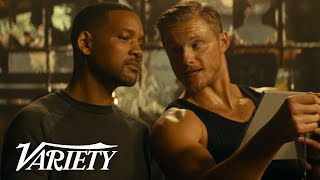 Alexander Ludwig On Joining Bad Boys For Life & Using The Rocks Workout Plan