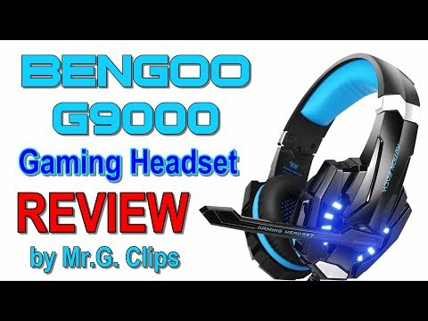 BENGOO G9000 Gaming Headset REVIEW!