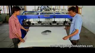 Jumbo Bag Cutting Machine with Spout cutting