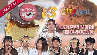 Eatbook VS Basque Burnt Cheesecake | Eatbook Cooks | EP 13