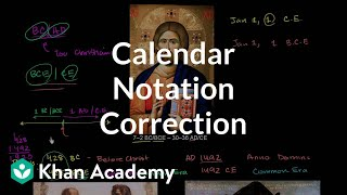 Correction Calendar Notation
