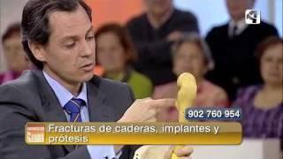 La Cadera en Aragon TV Dr Juan - Dr. Emilio Juan García
