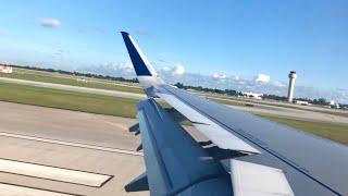 JetBlue A321 Landing West Palm Beach