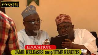 BREAKING NEWS: JAMB RELEASES 2019 UTME RESULT, WITHHELD 34,120,,,