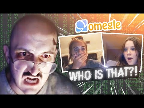 Creepy But Funny: Dude Hacks Into OMEGLE Calls Prank