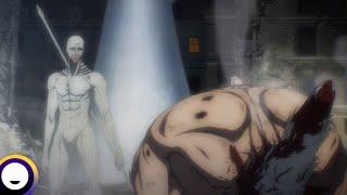 Attack on Titan Final Season English Dub | Funimation Clip: Eren vs War Hammer Titan