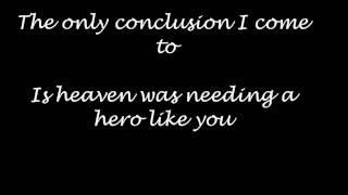 Jo Dee Messina - heaven was needing a hero  lyrics