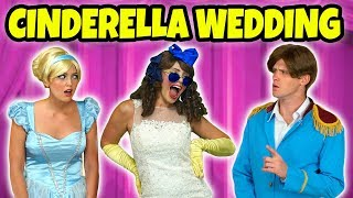 CINDERELLA WEDDING. IS STEPSISTER IS MARRYING PRINCE CHARMING! Totally TV