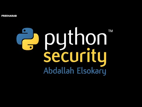 ‪11-Python Security (optparse OptionParser&OptionGroup) By Abdallah Elsokary | Arabic‬‏