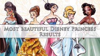[RESULTS] Most Beautiful Disney Princess