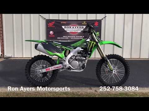 2020 Kawasaki KX 250 in Greenville, North Carolina - Video 1