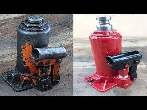 Rusty Hydraulic Jack Restoration