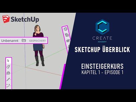 SketchUp Free Einsteigerkurs: Von der Idee zum 3D-Modell - Kapitel 1 Ep. 1 DE