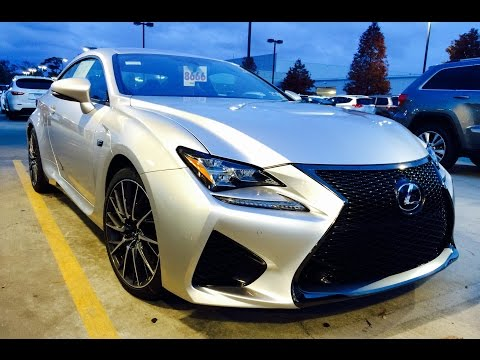 2015 Lexus RC F Full Review / Exhaust / Start Up