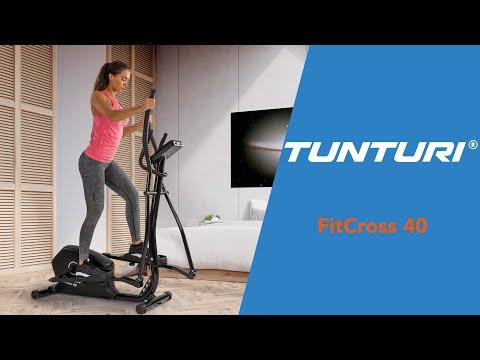 Promovideo: Eliptický trenažér TUNTURI FitCross 40