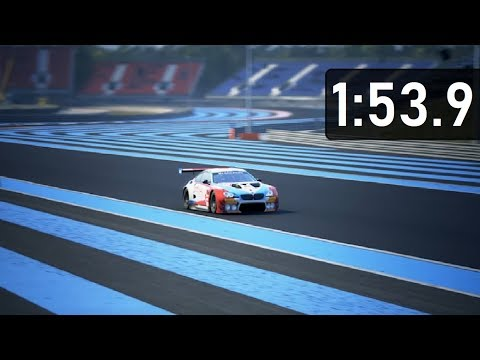 Assetto Corsa Competizione Paul Ricard Bmw M6 Gt3 Build 3 First