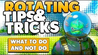 Rotating To The Circle Guide | What To Do & Not Do Tips & Tricks | Fortnite Battle Royale